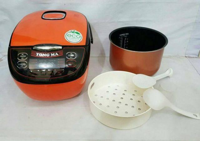 Cara Masak Nasi dengan Rice Cooker Yong Ma